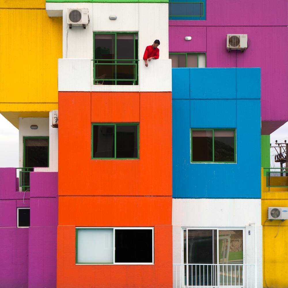 Rubiks house 2014 70x70