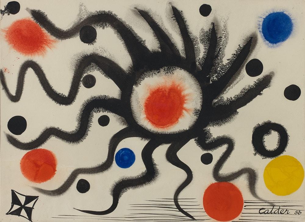 Calder untitled 1956