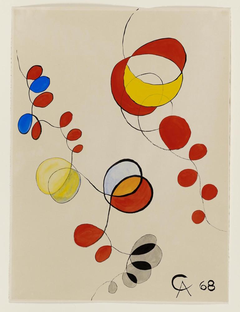 Calder   variegated loops
